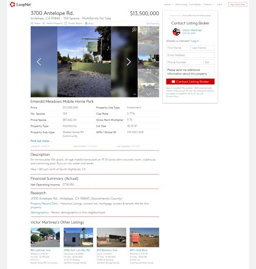 small resolution of emerald meadows mobile home park for sale for 13 5mm