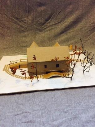 Elijah's House for a Blind Man Back View