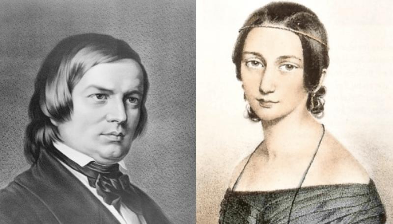 Robert Schumann + Clara Wieck
