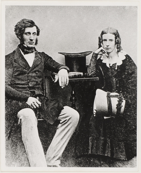 Thomas Mort and his wife (copy of 1846 portrait ?) Collections of the State Library of NSW