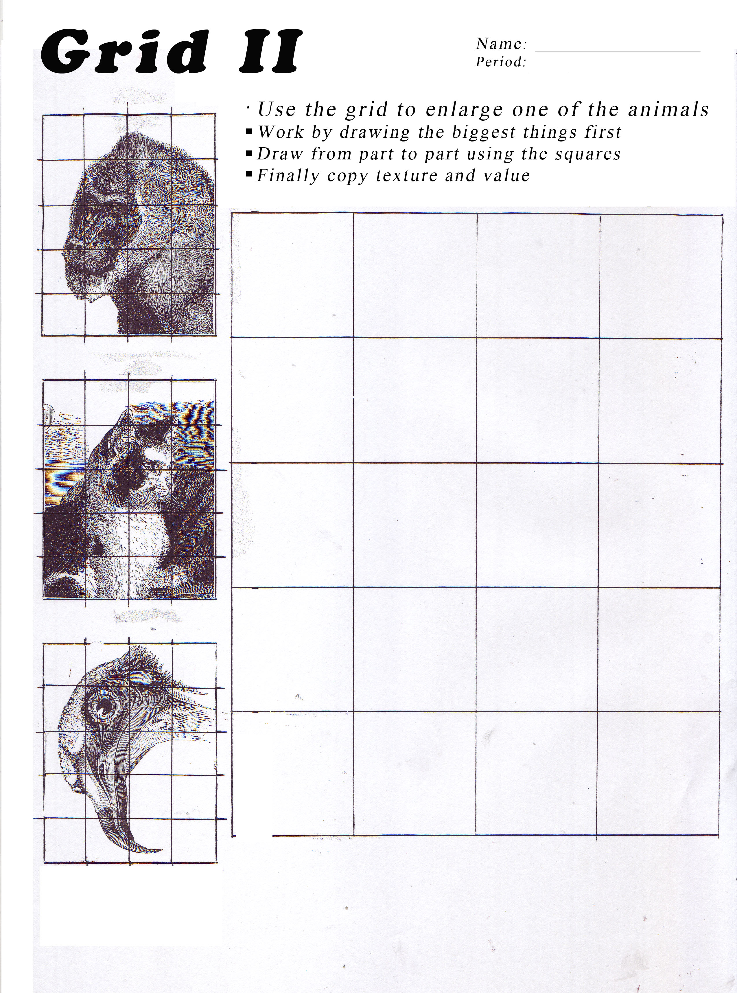 Unit 4 Grid Drawing