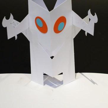 Robot, projet réalisé, face