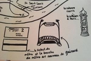 Valise projet définitif, pop-up Paris, métro