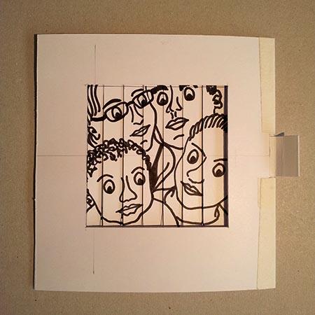 V Carte Anniversaire Pop Up Personnalisee Ao Maquette Debut Portrait 01 Mht Pop Up