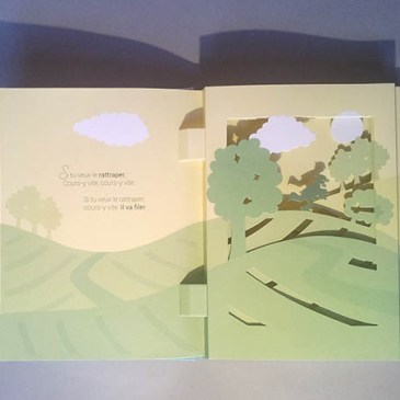 Le bonheur est dans le pré, diorama page 2