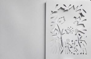 Projet de livre Le bonheur, maquette en blanc version 3, page 3