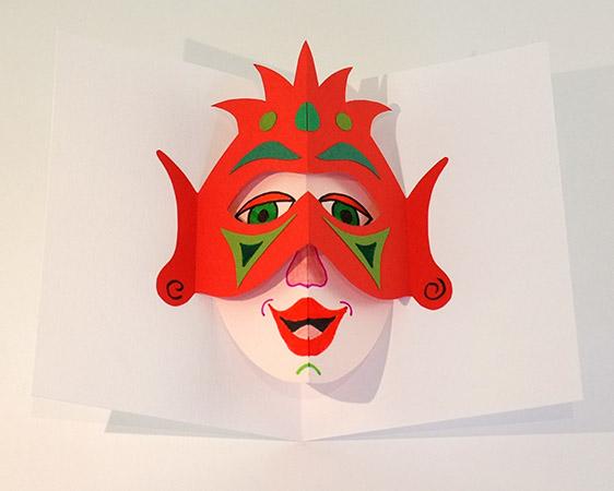 Atelier pop-up autour du masque version avec double tente