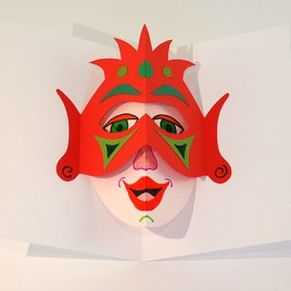 Atelier pop-up autour du masque version avec double tente