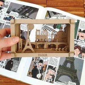Diorama Paris BD