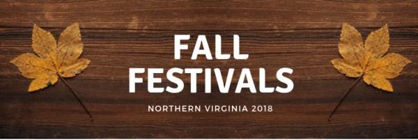 Northern Virginia Fall Festivals 2018
