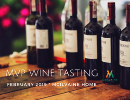 McIlvaine Home Team Wine Tasting