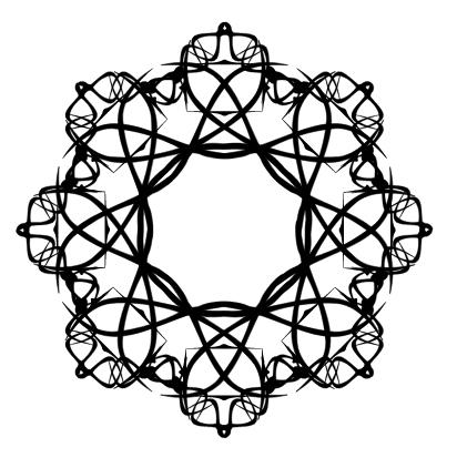 زخرفة هندسية اسلامية