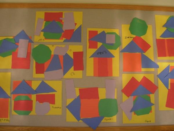 Preschool Shape Art Projects