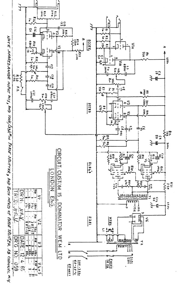 18watt schematics etc