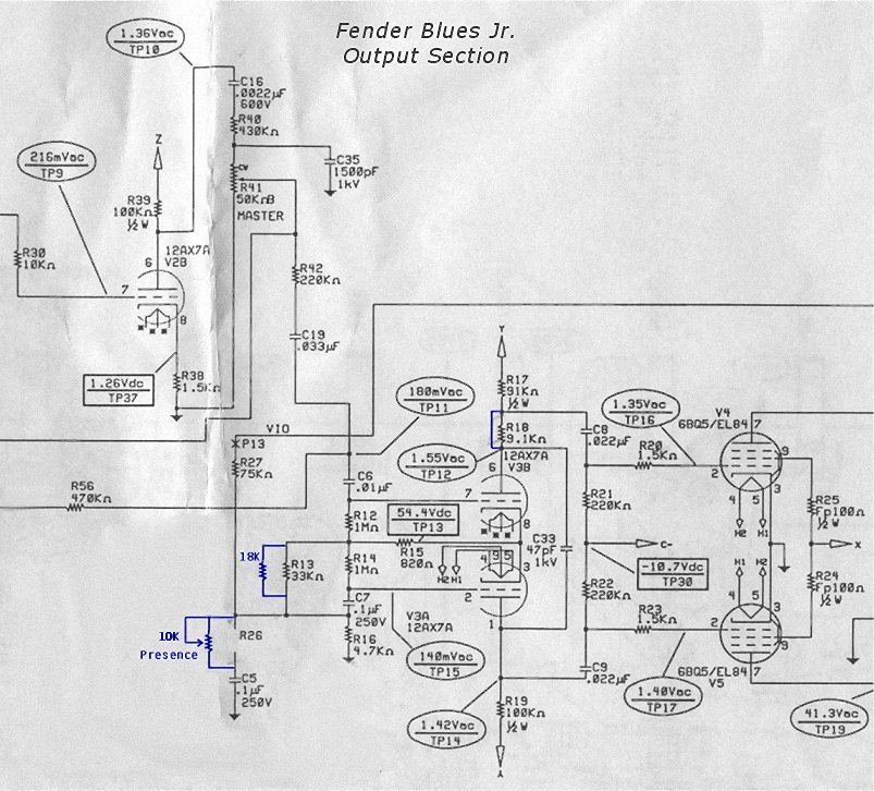 fender hot rod deluxe wiring diagram label digestive system blank blues junior schematic ampeg svt ~ elsavadorla