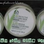 My Body Shop Aloe Favourites………