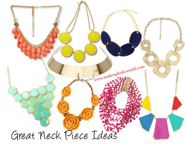Great Neck Piece Ideas............