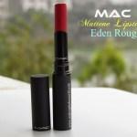 MAC Styleseeker Mattene Lipstick – Eden Rouge