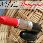 Mac Retro Matte Lipstick Dangerous review, Swatches LOTD