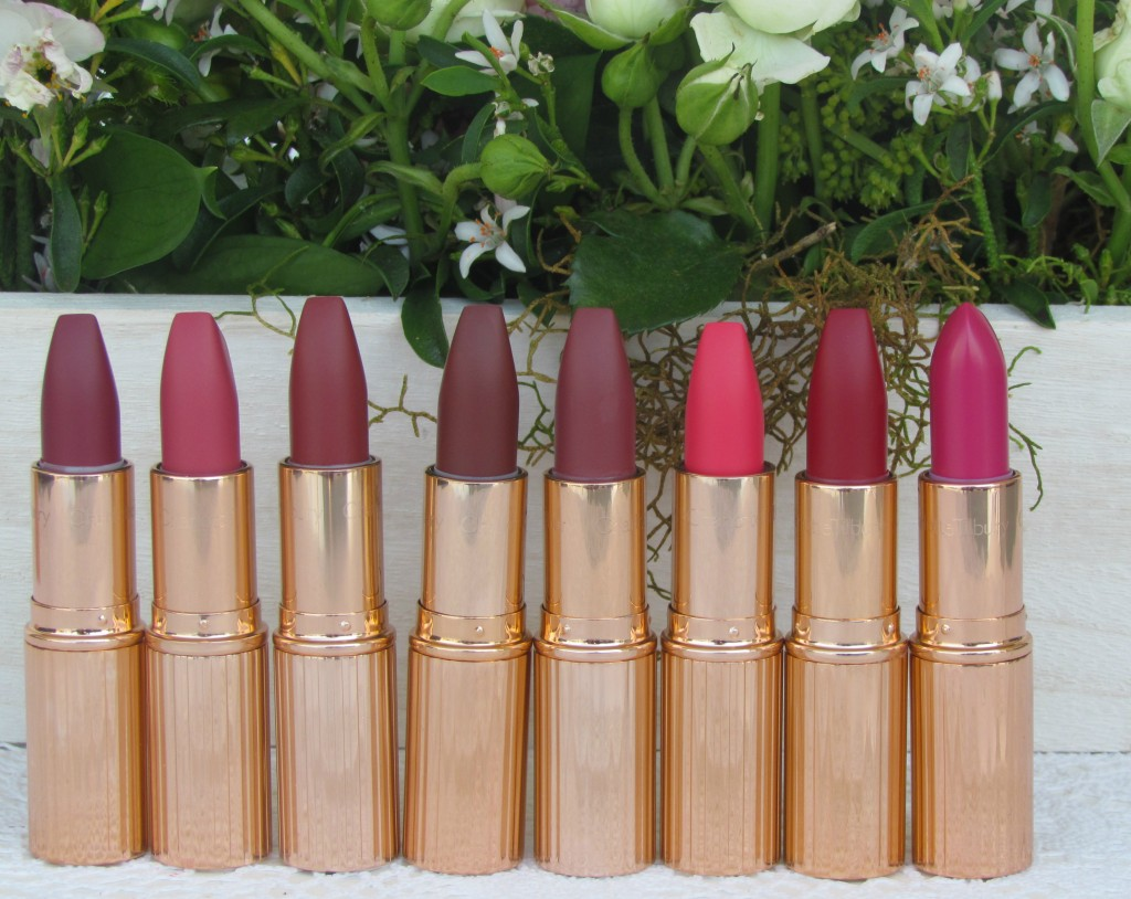charlotte tilbury lipsticks haul