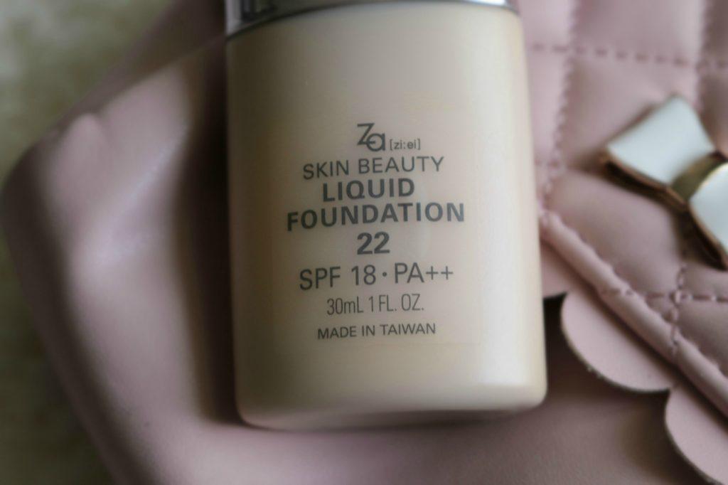 za beauty liquid foundation