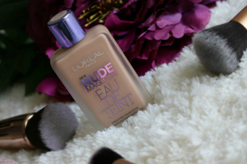 loreal nude magique foundation nude beige review