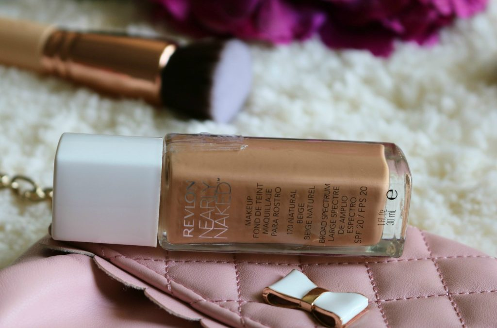 Revlon Nearly Naked Makeup Foundation with SPF 20