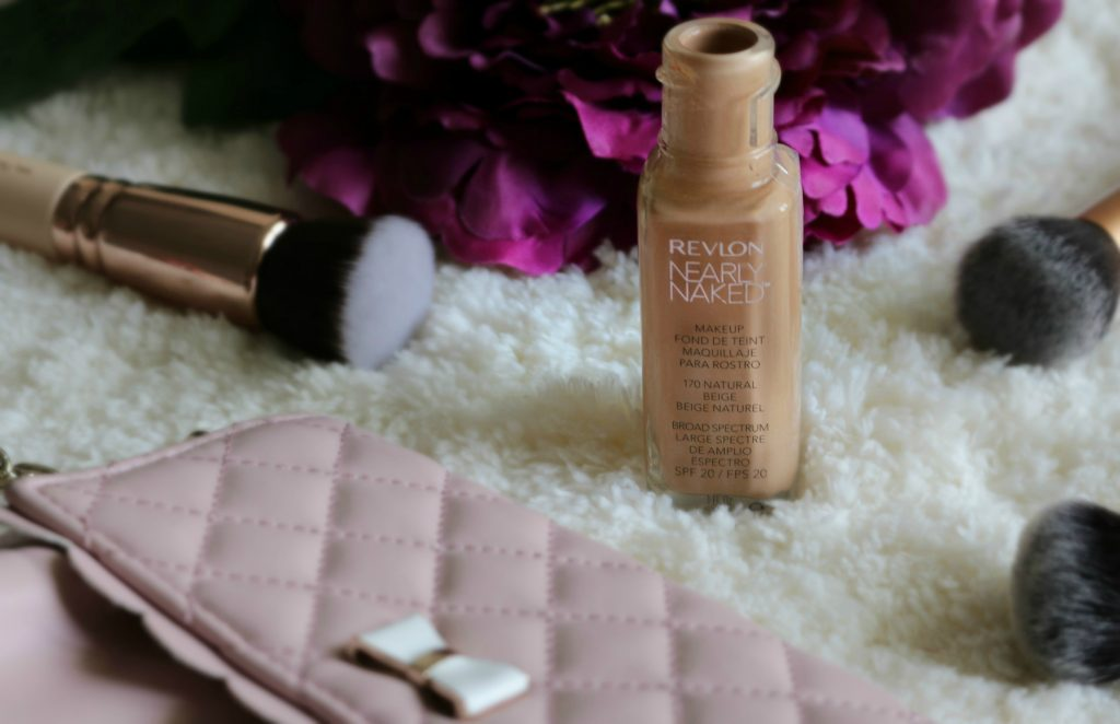 Revlon Nearly Naked Makeup Foundation swatches