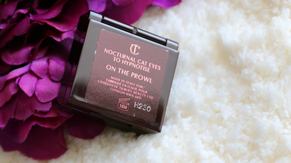 charlotte tilbury nocturnal cat eyes to hypnotise eye shadow - on the prowl