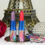 MAC x Chris Chang Lipsticks – Vermillion Vee, Plum Princess