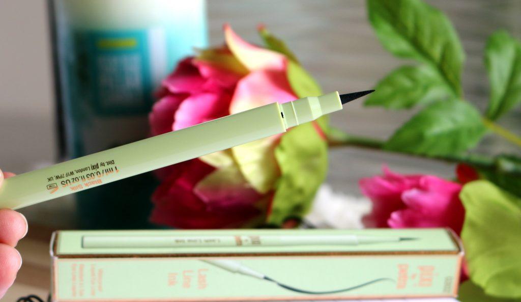 pixi beauty lash line ink - black silk review