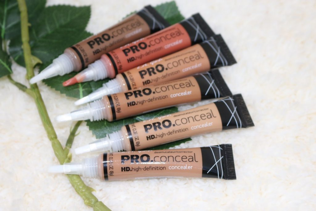 la girl pro concealer indian skin