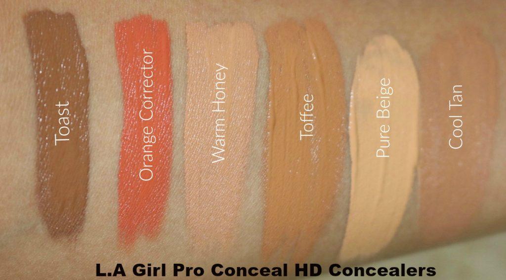 la girl hd pro concealer review