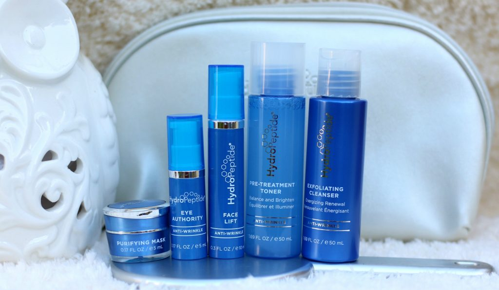 hydropeptide on-the-go-glow anti-wrinkle travel set review