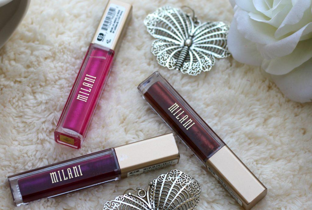 Milani Cosmetics Amore Matte Metallic Lip Crème swatches