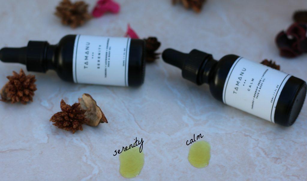 tamanu oil blends