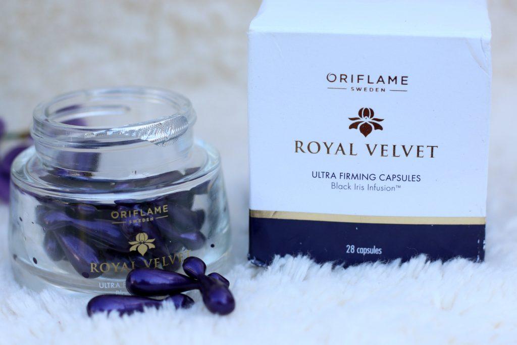 oriflame royal velvet ultra firming capsules