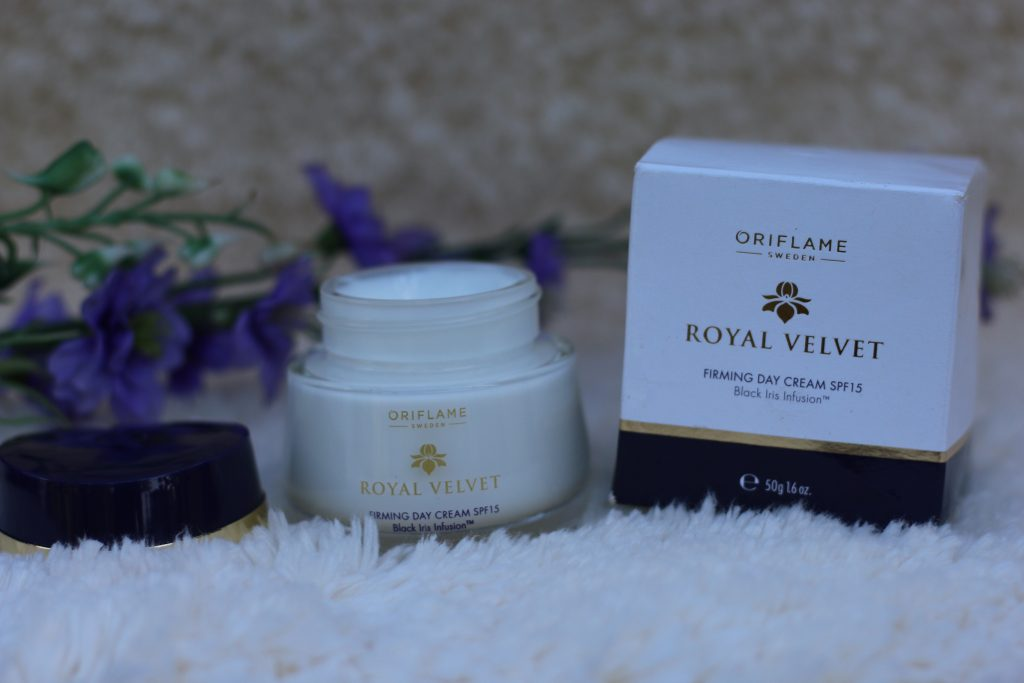oriflame royal velvet spf 15 firming day cream