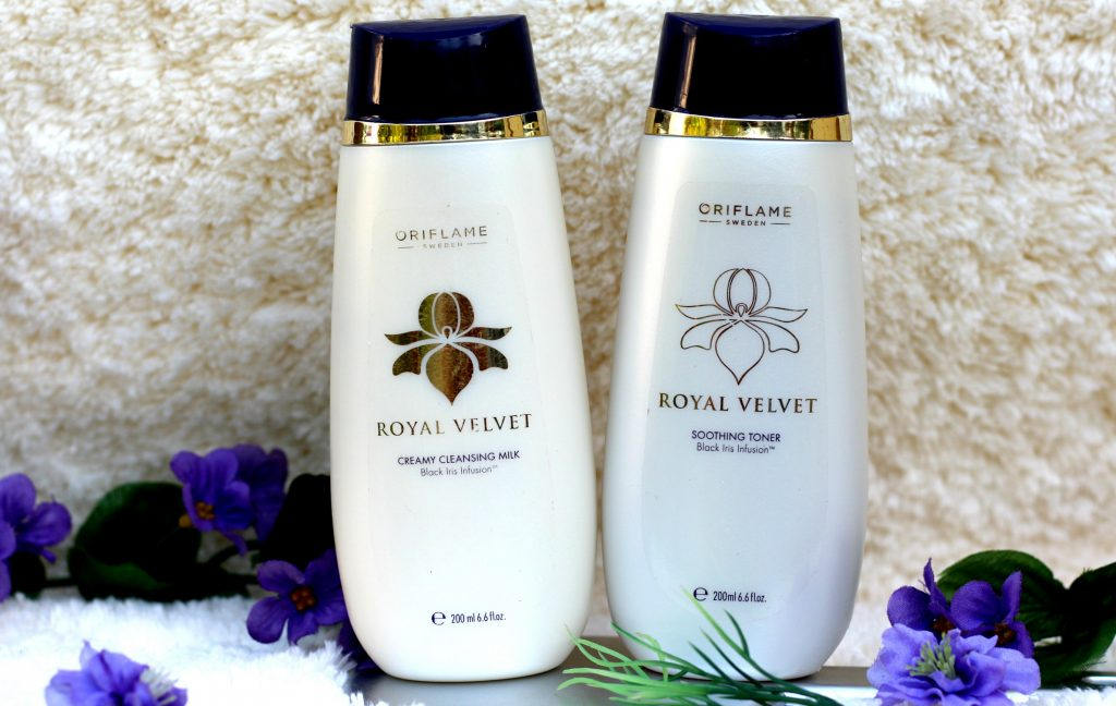 oriflame royal velvet creamy cleansing milk review