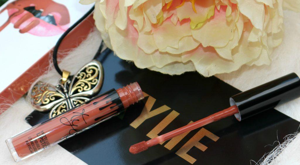kylie matte lip kit ginger review