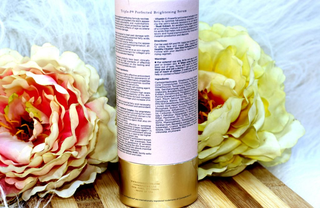 Triple-p® Perfected Brightening Serum review