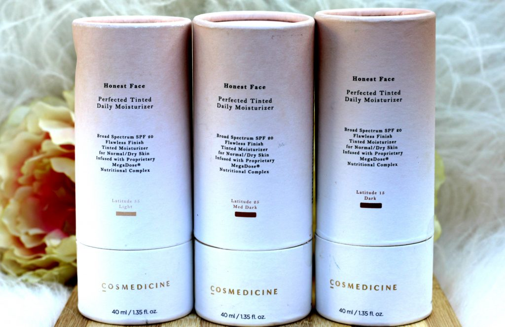 Honest Face® Perfected Tinted Moisturizer review