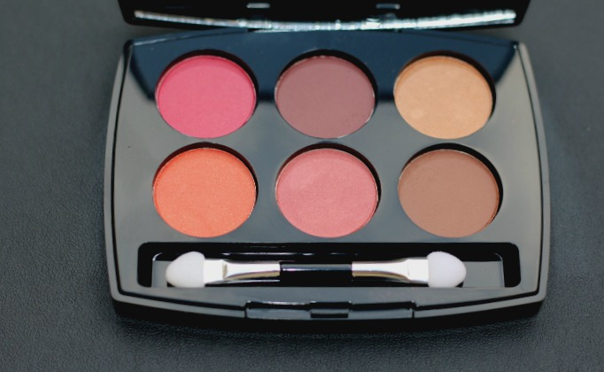 lakme eyeshadow palette french rose review