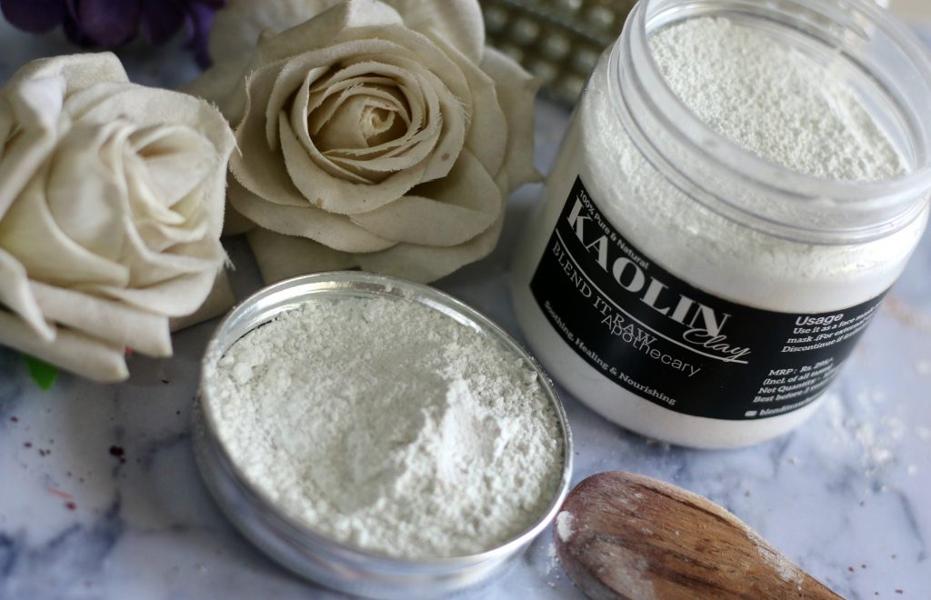blend it raw kaolin clay review
