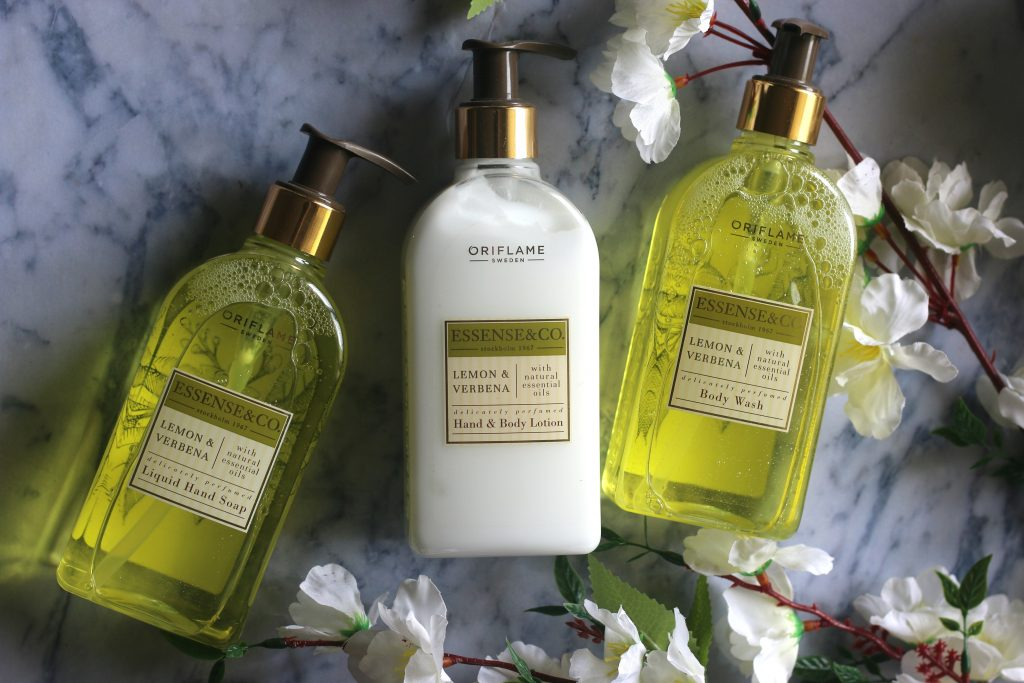 Oriflame Essense & Co. Lemon & Verbena Range