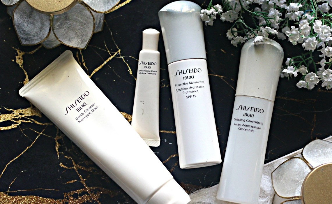 Shiseido Ibuki Skincare Range | Products for late 20's & early 30's | Are they worth buying ??