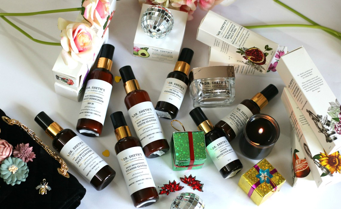 Finally, a Skincare Line specially made for Indian Skin! Dr Sheths Skincare Range Review