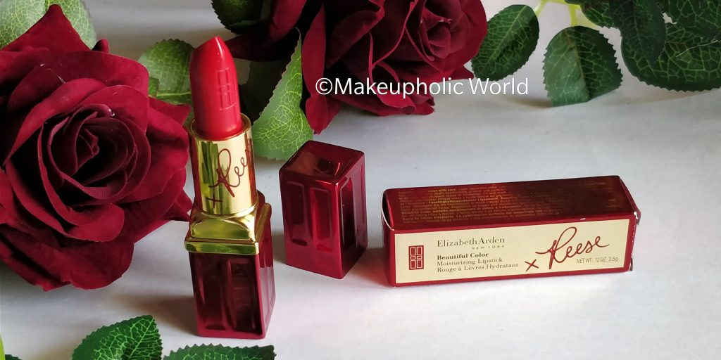 elizabeth arden lipstick review, reese witherspoon lipstick color, elizabeth arden red door red, elizabeth arden limited edition lipstick, elizabeth arden reese witherspoon limited edition beautiful color moisturizing lipstick red door red, elizabeth arden we march on lipstick with reese witherspoon swatch, beautiful color lipstick , elizabeth arden limited edition lipstick, best red lipstick, beautiful red lipstick, elizabeth arden beautiful color moisturizing lipstick review, elizabeth arden reese witherspoon red lipstick review, elizabeth arden reese witherspoon lipstick swatch, charity, makeup for charity