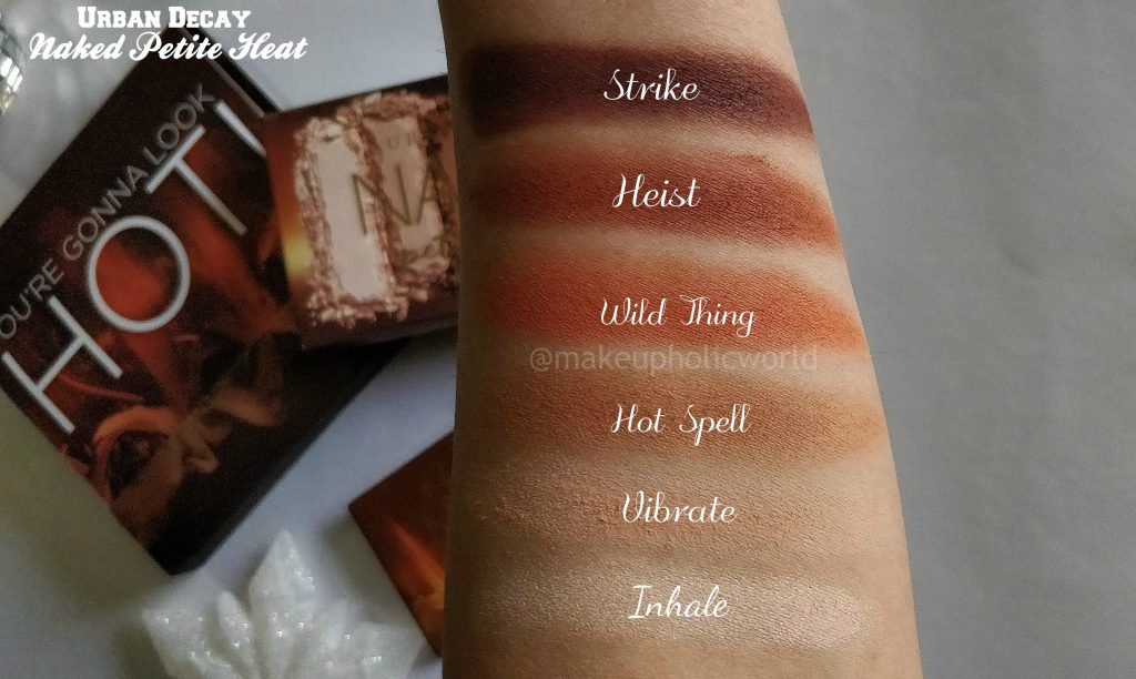 urban decay naked petite heat eye shadow palette, urban decay petite heat, urban decay petite heat palette review, urban decay mini heat palette, urban decay petite heat swatches, urban decay petite heat price, nked petite heat palette, urban decay naked palette,