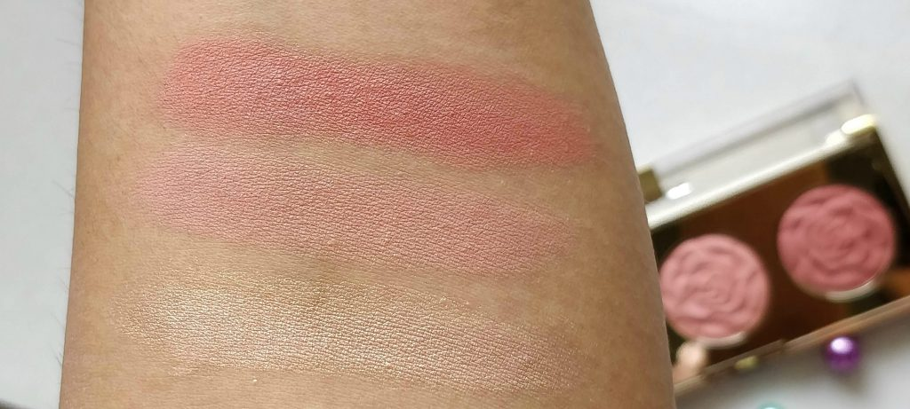 milani spring 2018, milani cosmetics new launches , milani rose blush trio palette review, milani rose blush trio palette swatches, milani rose blush trio palette 01 flowers of love, milani rose blush trio palette 01 flowers of love swatches and review, milani rose blush trio palette 02 floral fantasy, milani rose blush trio palette 02 floral fantasy review and swatches, milani stellar lights highlighter palette review, milani stellar lights highlighter palette 02 holographic beams review and swatches, milani stellar lights highlighter palette 03 rose glow review and swatches, milani  facial oil, milani face oil review, milani prep + brighten rose face oil, milani prep + soothe camellia face oil, milani prep + brighten rose face oil review, milani prep + soothe camellia face oil review, milani cosmetics face makeup, milani rose blushes, milani cosmetics new launches buy online, milani rose blush, milani highlighter, milani oils
